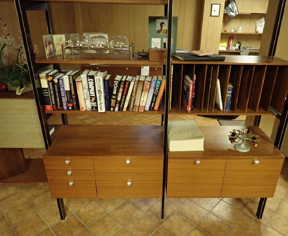 Early Herman Miller 5-Bay CSS Omni Wall Unit - 10