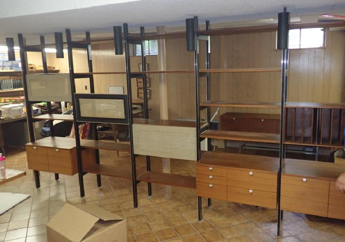 Early Herman Miller 5-Bay CSS Omni Wall Unit - 9