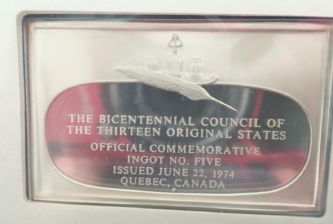 The Official Bicentennial Ingots Collection - 10