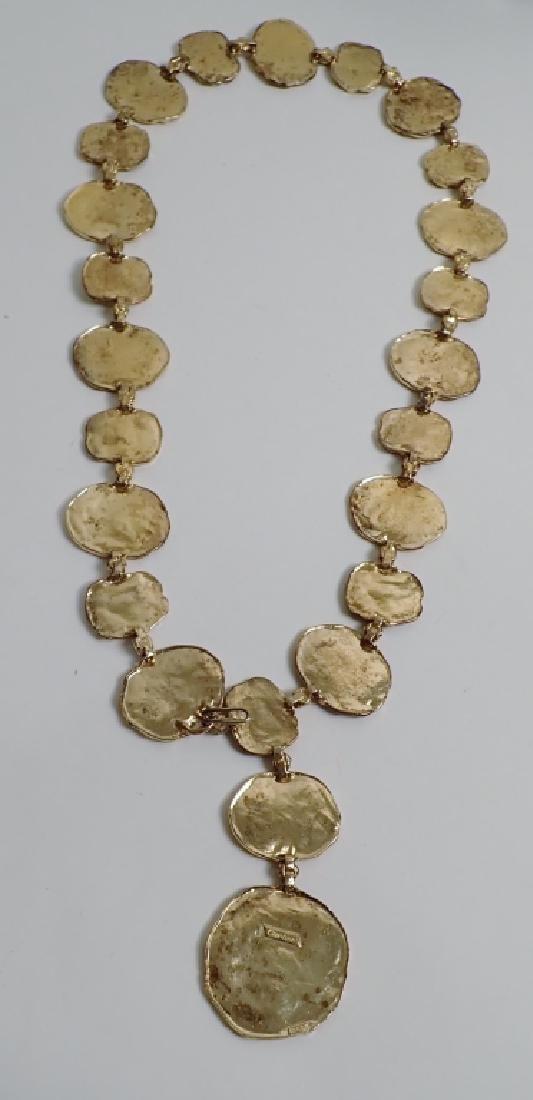 Cartier Gilt Silver Vermeil Necklace-Belt - 3