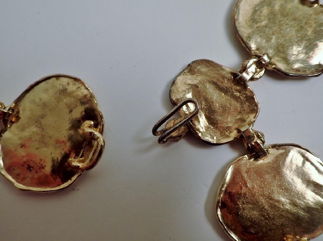 Cartier Gilt Silver Vermeil Necklace-Belt - 7