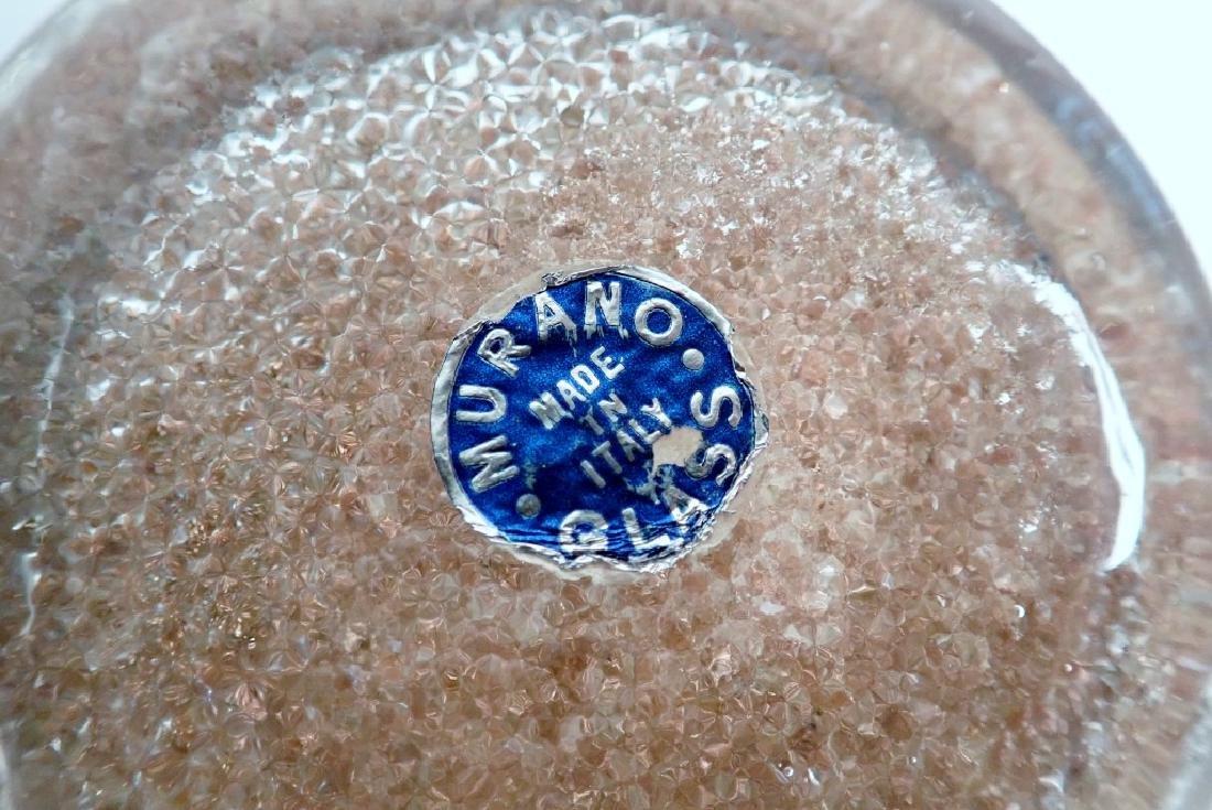 8 Murano Glass Overshot Art Glass Shell Bowls - 10