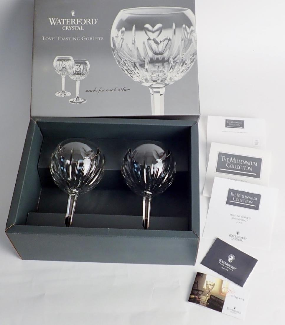 Waterford Love Toasting Goblet Pair in Box
