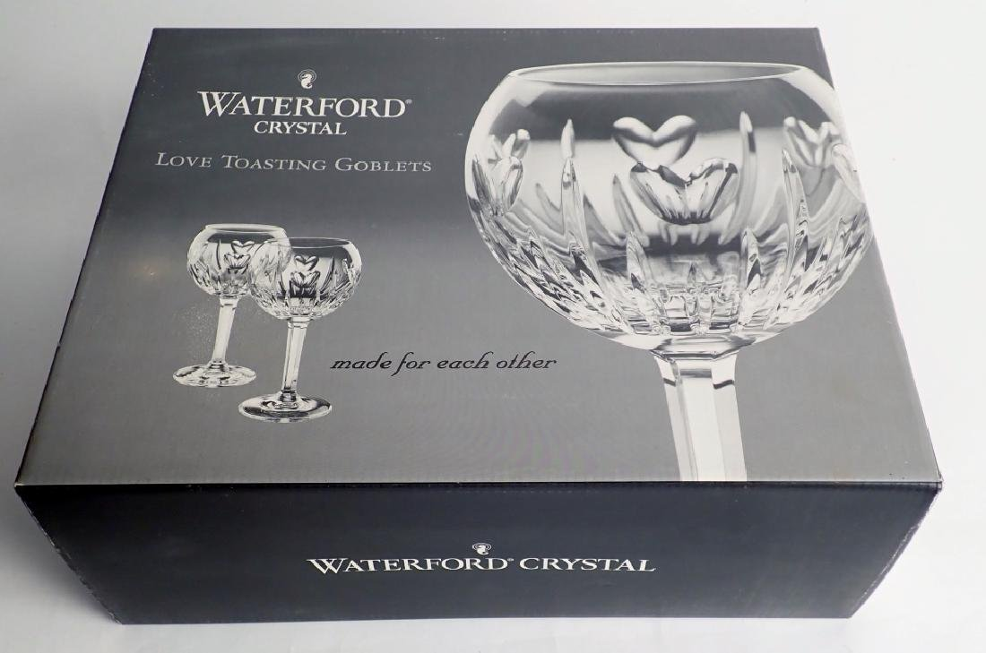 Waterford Love Toasting Goblet Pair in Box - 2