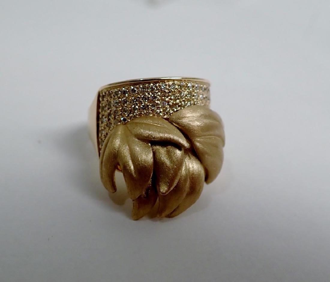 Sonia B. Diamond & 14K Yellow gold Ring - 10