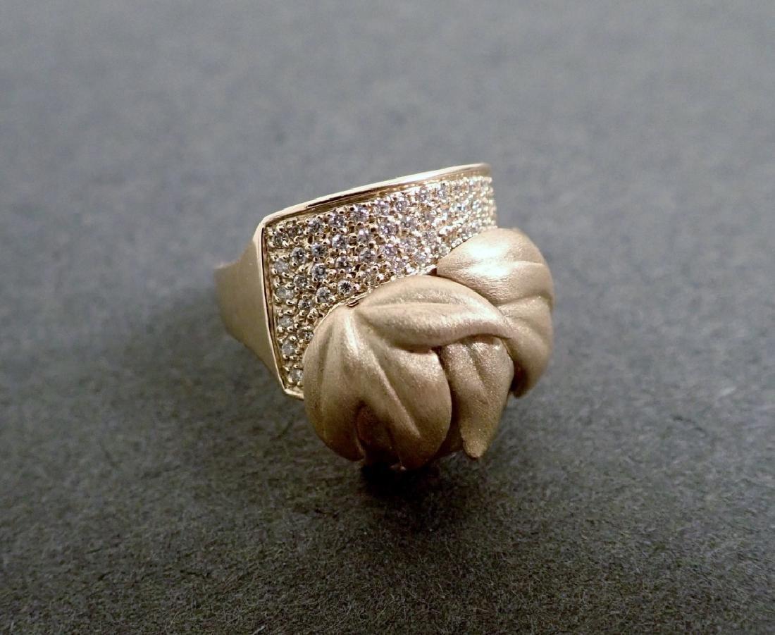 Sonia B. Diamond & 14K Yellow gold Ring