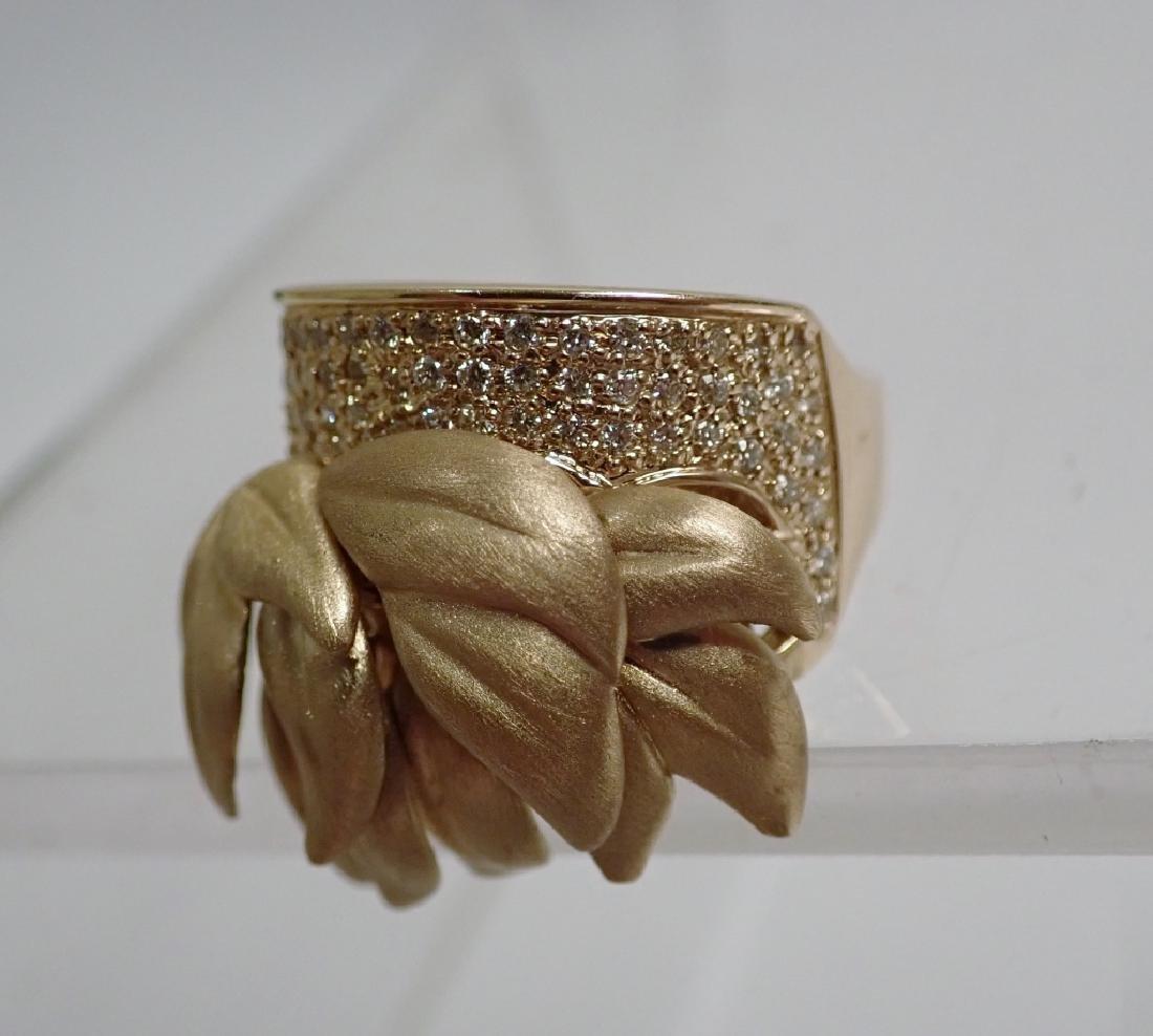 Sonia B. Diamond & 14K Yellow gold Ring - 2