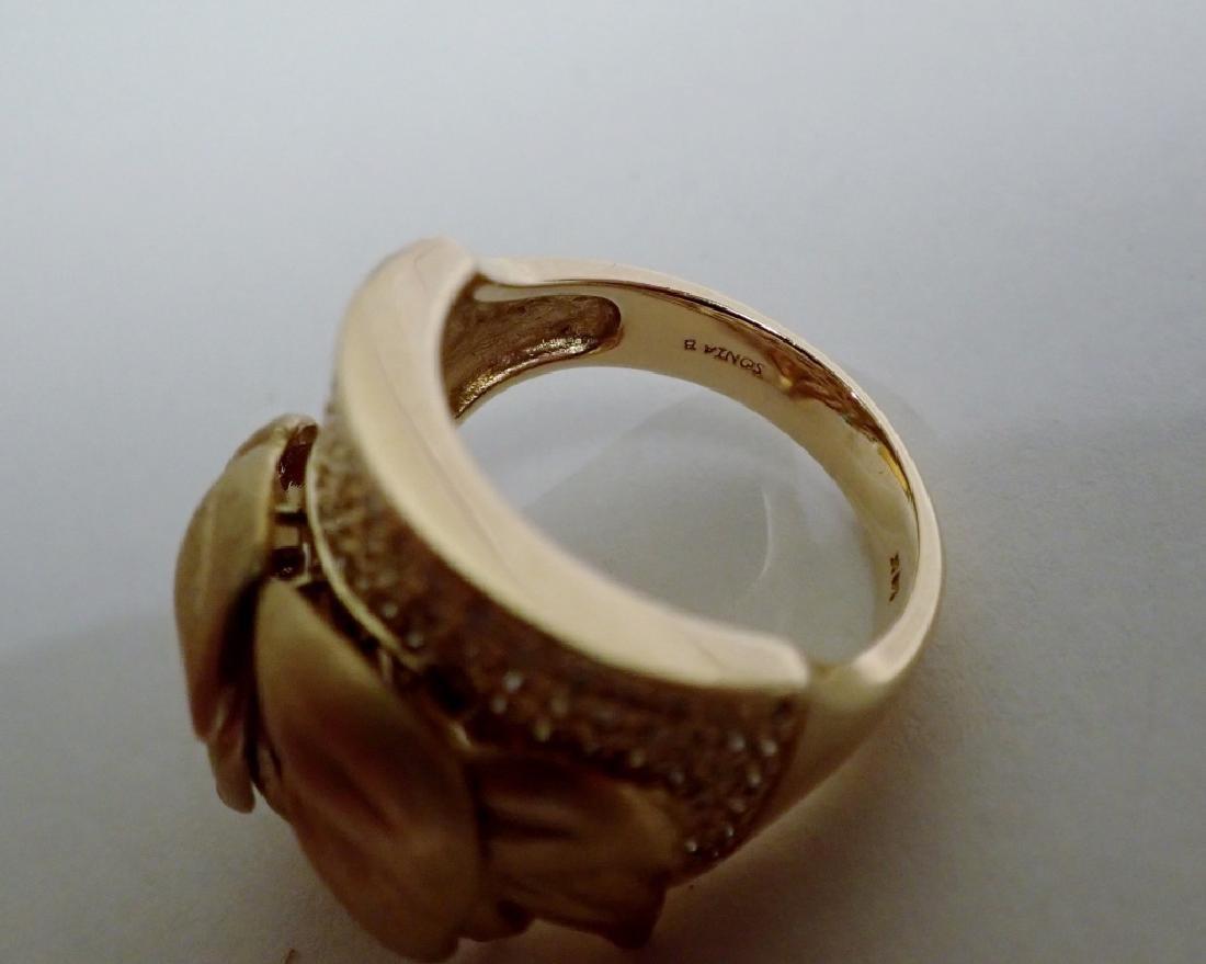 Sonia B. Diamond & 14K Yellow gold Ring - 4