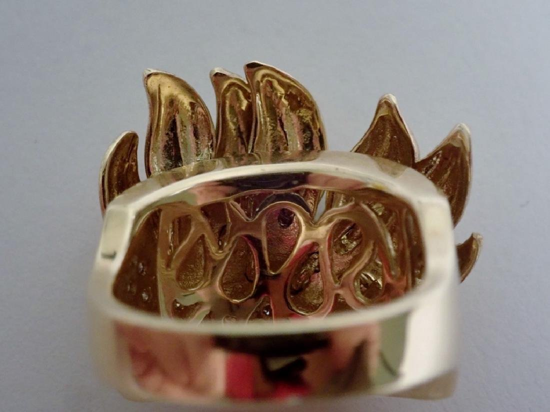 Sonia B. Diamond & 14K Yellow gold Ring - 9