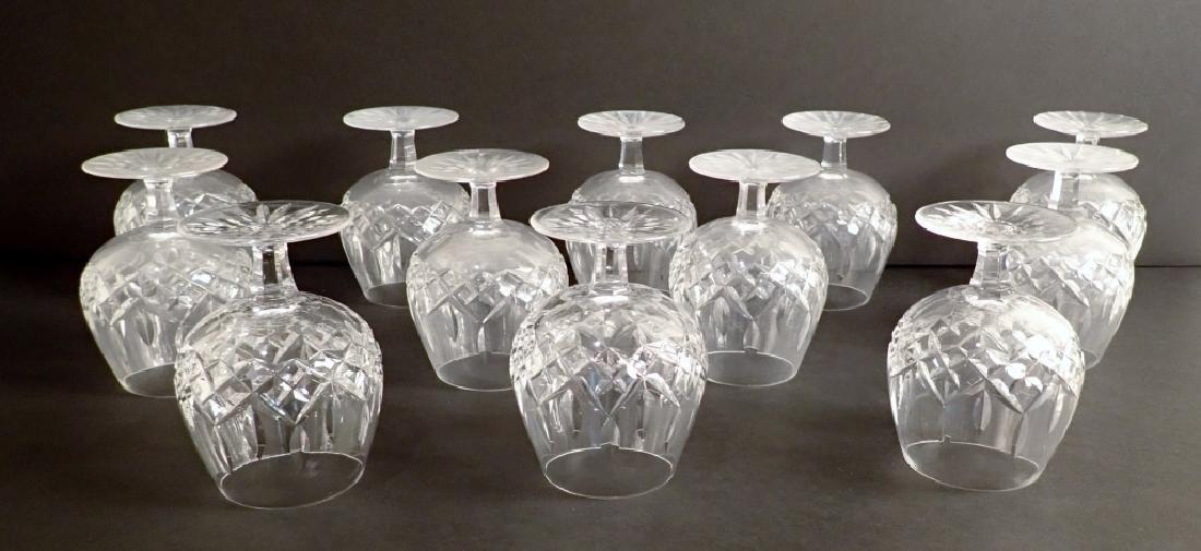 Set of 12 Waterford Lismore Brandy Glasses - 10