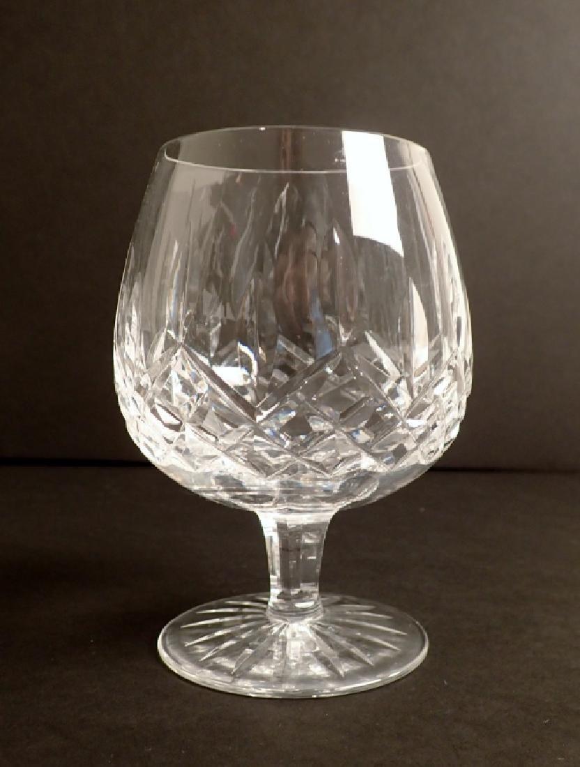 Set of 12 Waterford Lismore Brandy Glasses - 3