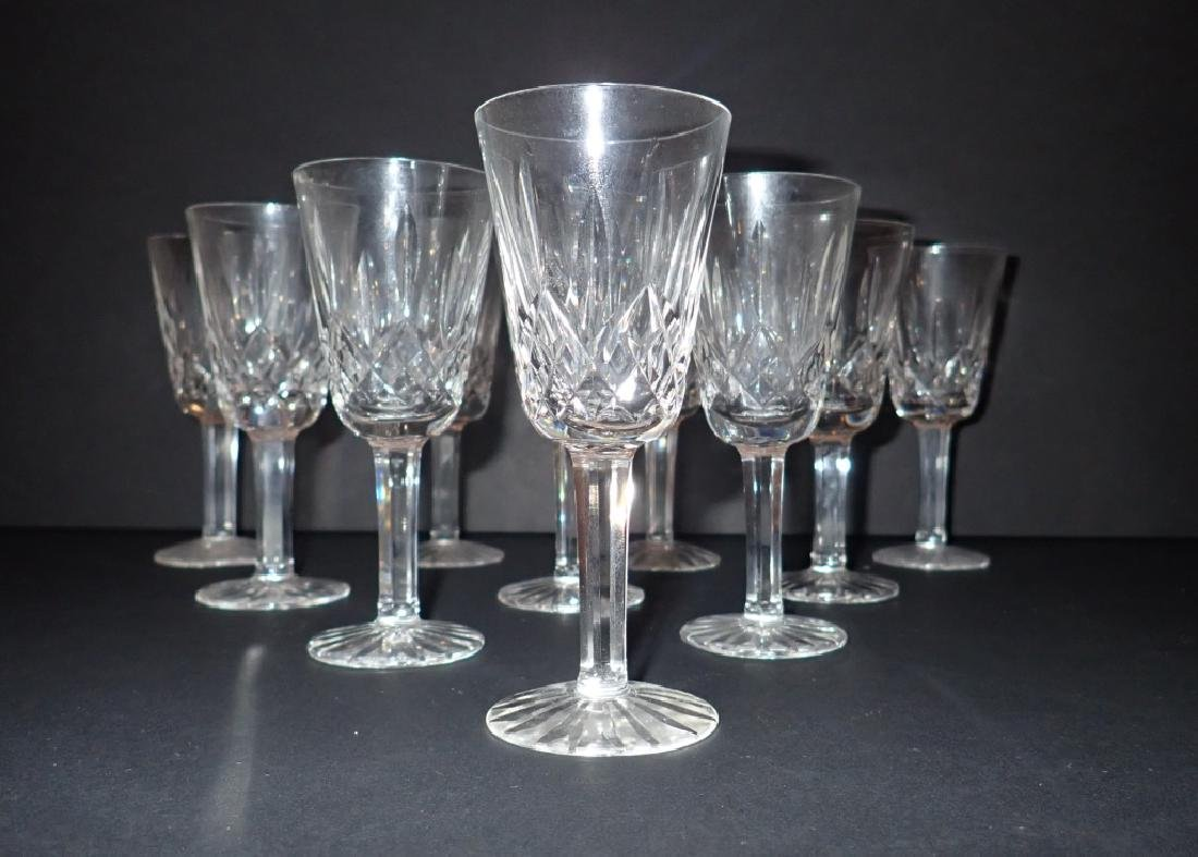 Waterford Lismore Sherry Glasses, Set of 10