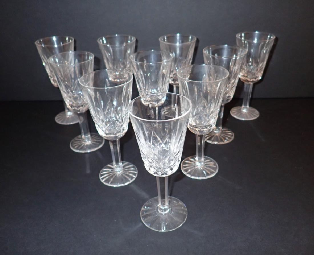 Waterford Lismore Sherry Glasses, Set of 10 - 2