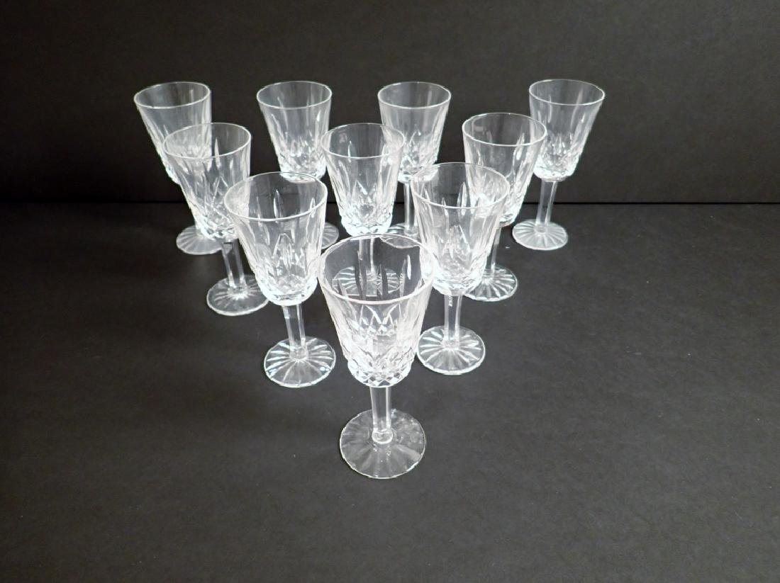 Waterford Lismore Sherry Glasses, Set of 10 - 9