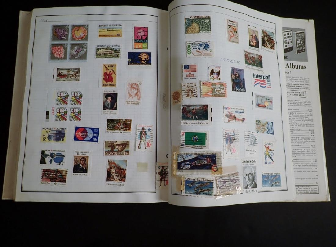 Large Collection of US and World Used Stamps - 10