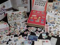 Large Collection of US and World Used Stamps