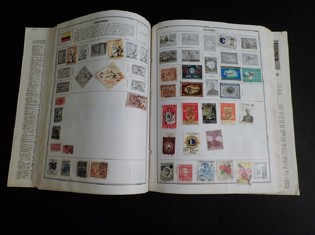 Large Collection of US and World Used Stamps - 9