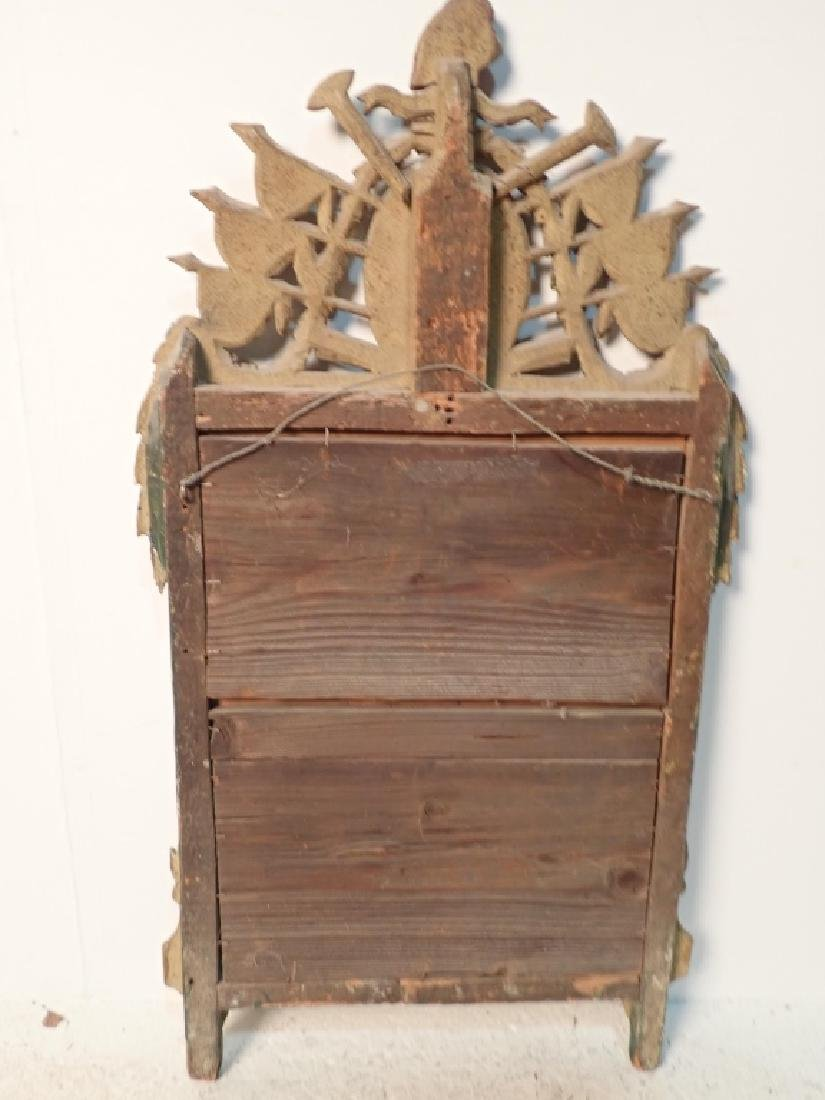 18th Century Carved Wood Mirror - 7