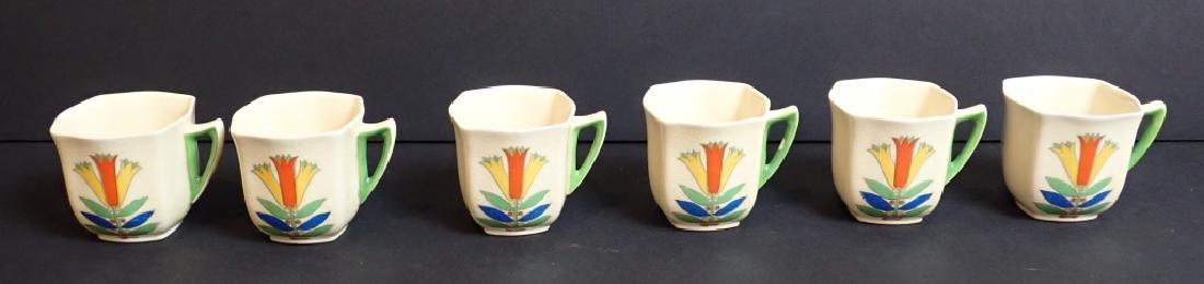 Royal Doulton Mecca Art Deco Porcelain Tea Set - 10
