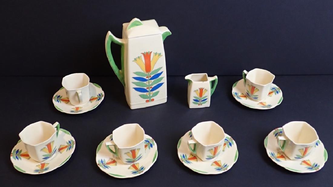 Royal Doulton Mecca Art Deco Porcelain Tea Set