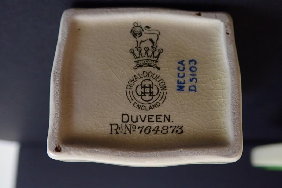 Royal Doulton Mecca Art Deco Porcelain Tea Set - 5