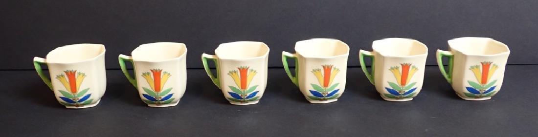 Royal Doulton Mecca Art Deco Porcelain Tea Set - 9