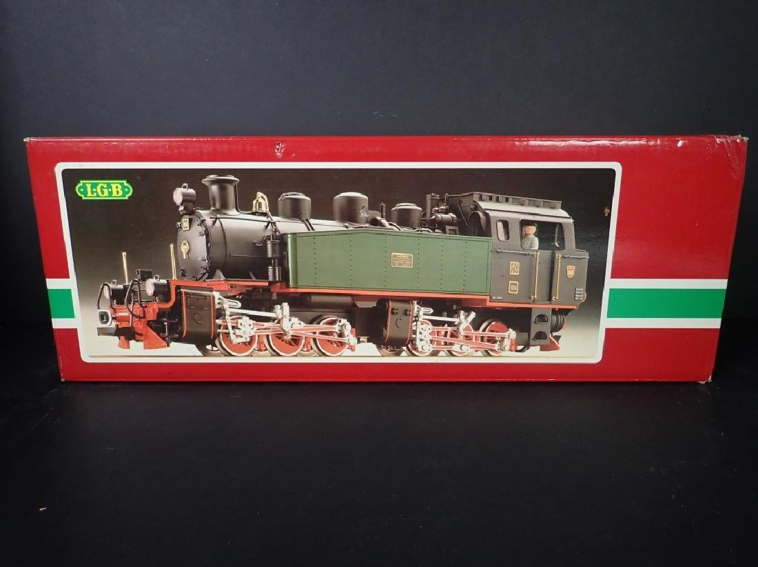 LGB 2085 Hanomag Mallet Steam Locomotive - 2