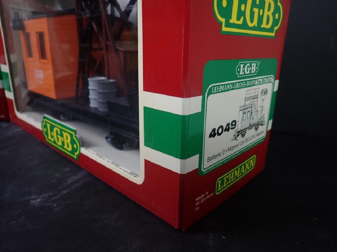 LGB 4049 & 4025 Maintenance & Cement Train Cars - 2
