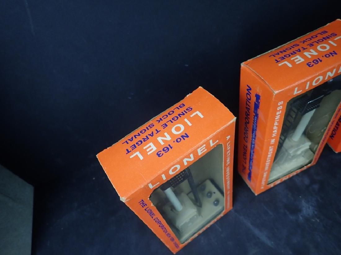 Four Vintage Boxed Lionel Train Signals - 2