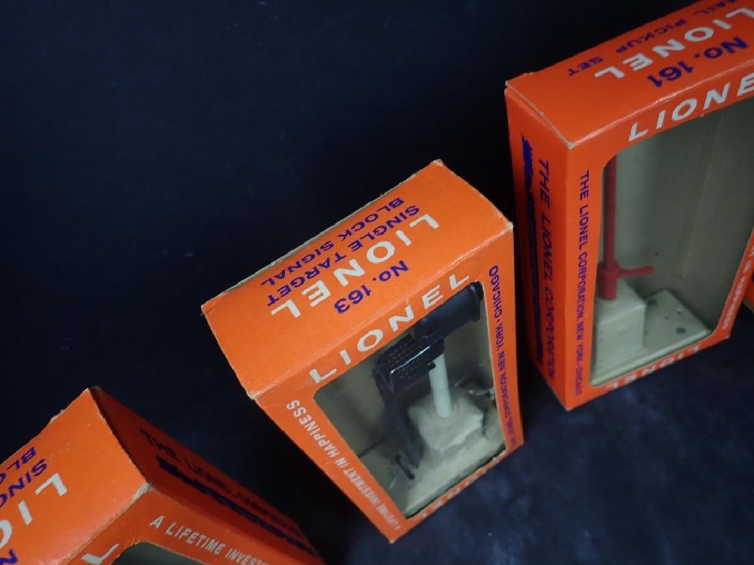 Four Vintage Boxed Lionel Train Signals - 3