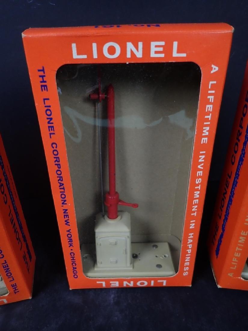 Four Vintage Boxed Lionel Train Signals - 8
