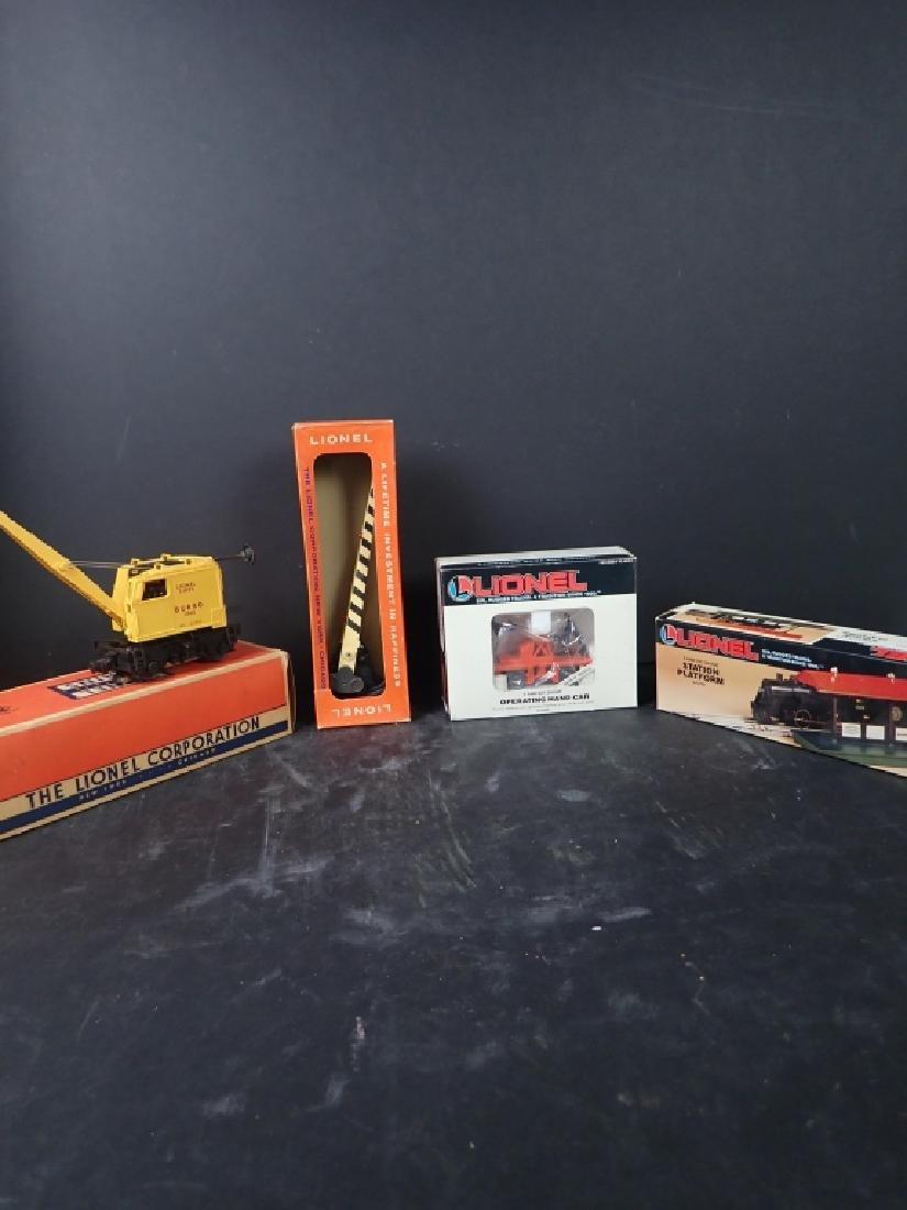 Assorted Lionel Train Cars & Accessories