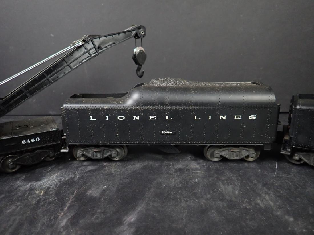 Three Lionel Lines Train Cars, Crane & 2 Tenders - 4
