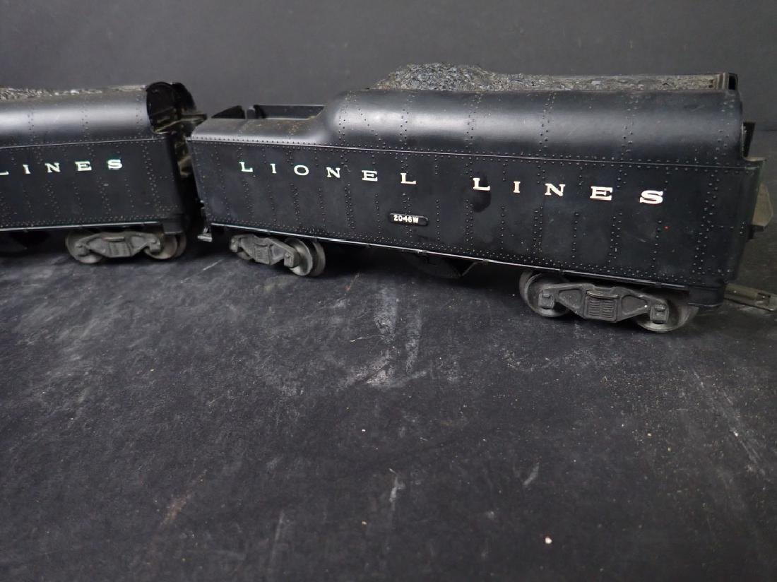Three Lionel Lines Train Cars, Crane & 2 Tenders - 5