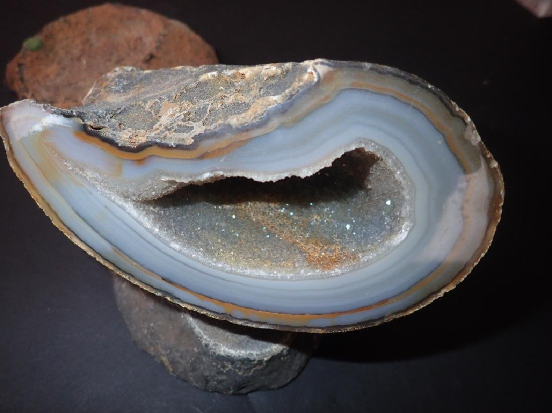 Collection of Six Natural Geodes - 6