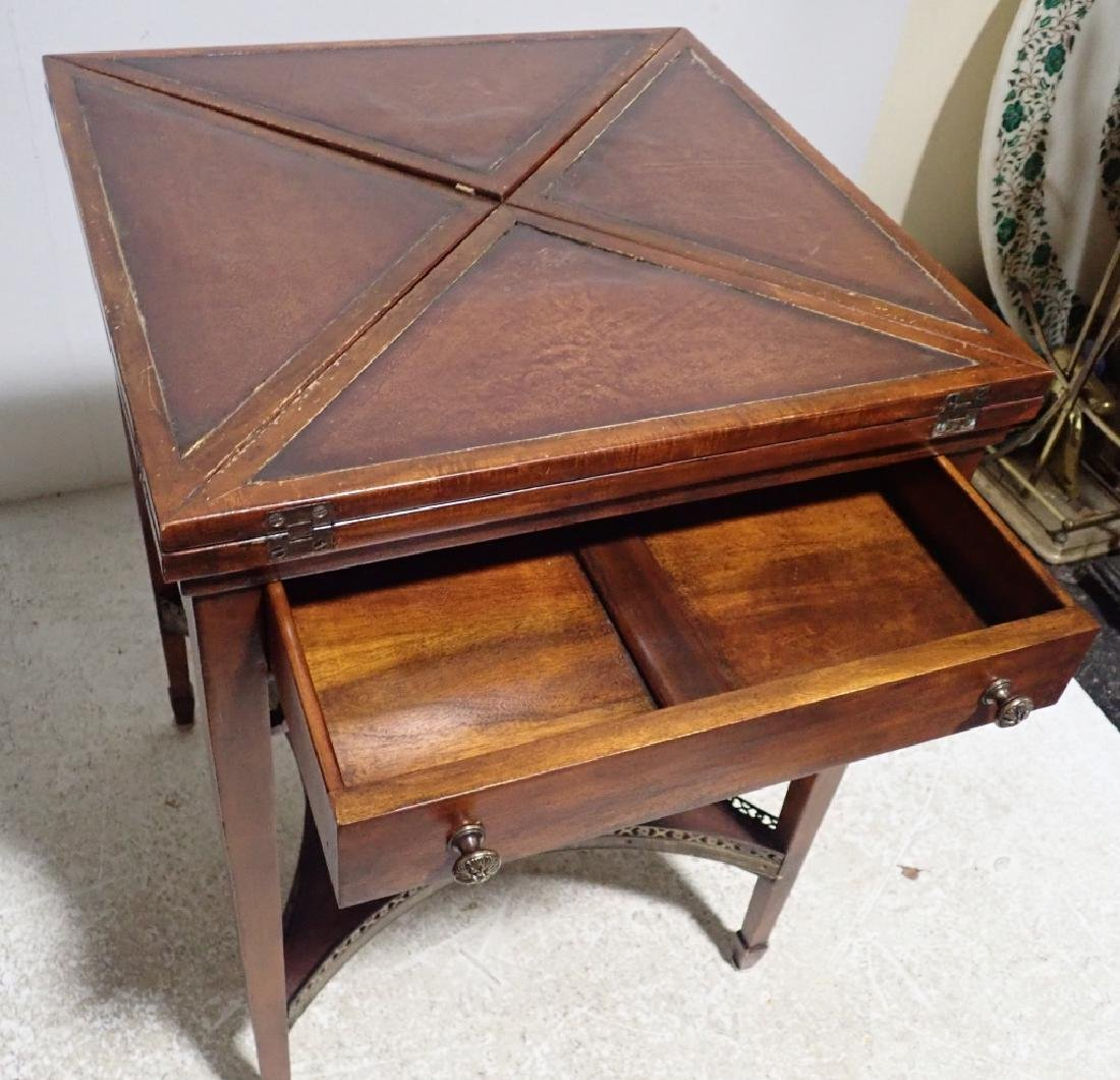 Antique Envelope Folding Game Table - 3
