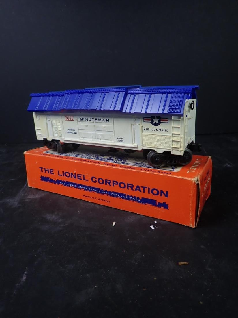 Lionel No. 3665 Minuteman Missile Launching Car