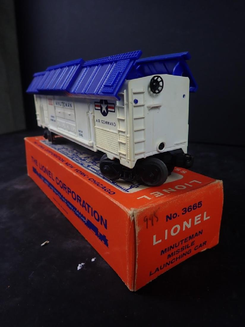 Lionel No. 3665 Minuteman Missile Launching Car - 2