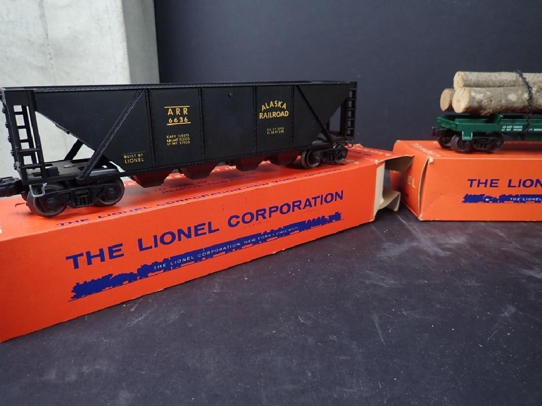 3 Lionel Freight Cars: No. 6361, No. 6636; No 6825 - 2