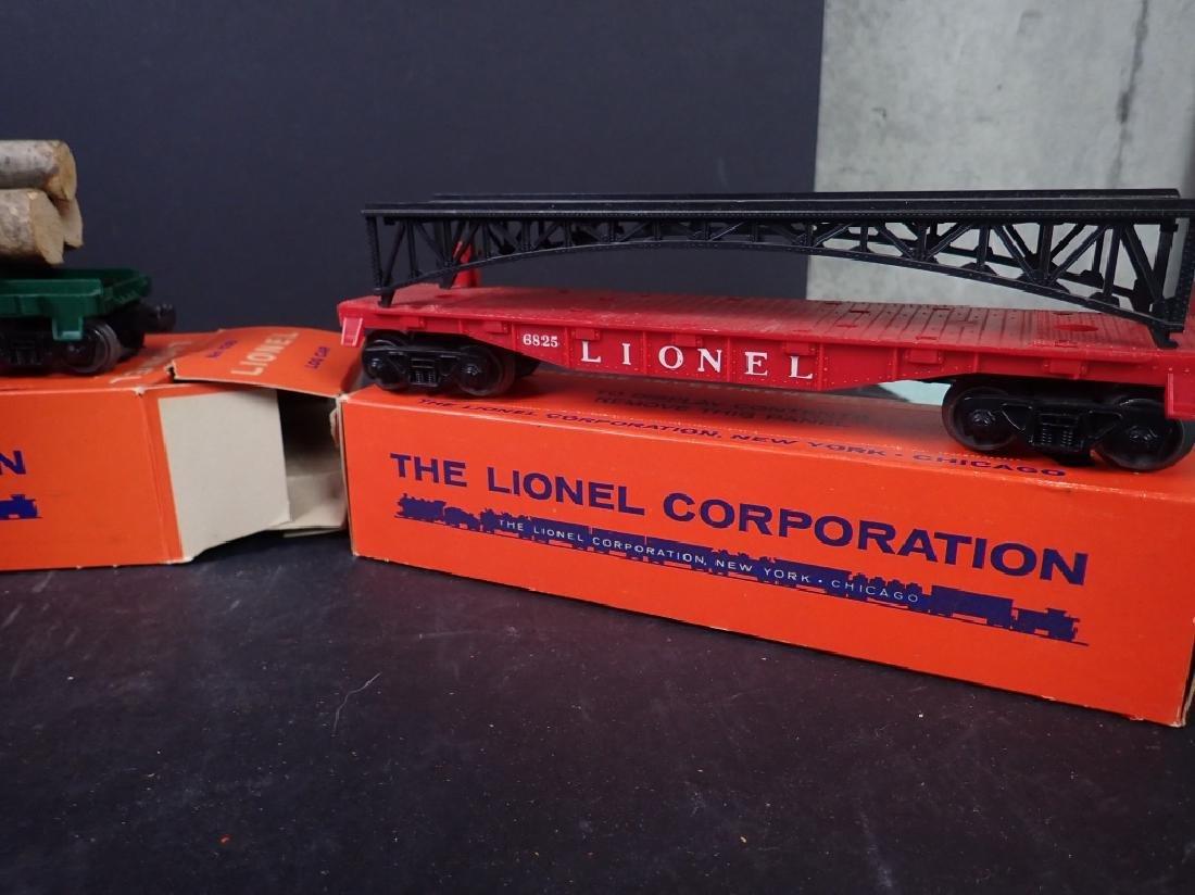 3 Lionel Freight Cars: No. 6361, No. 6636; No 6825 - 4