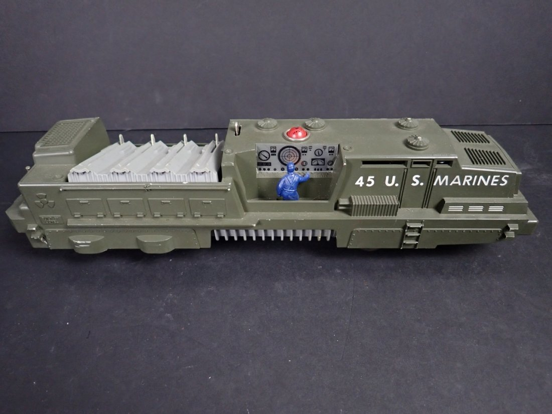 Lionel No. 45 US Marines Mobile Missile Launcher - 7