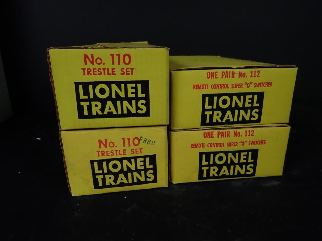 Lionel No. 110 Trestle Sets & No. 112 Switches - 2