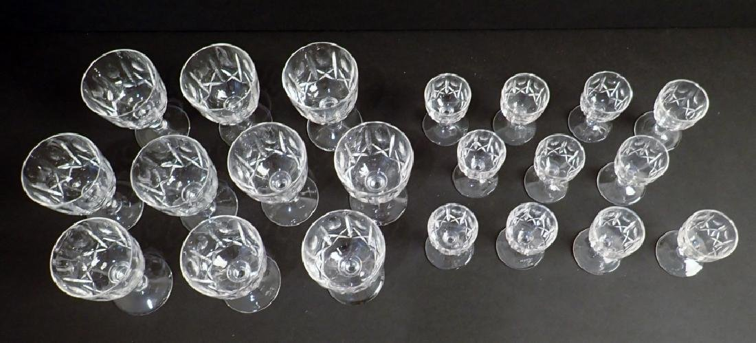 Wine & Cordial Glasses by Royal Brierley, 21 pcs - 4