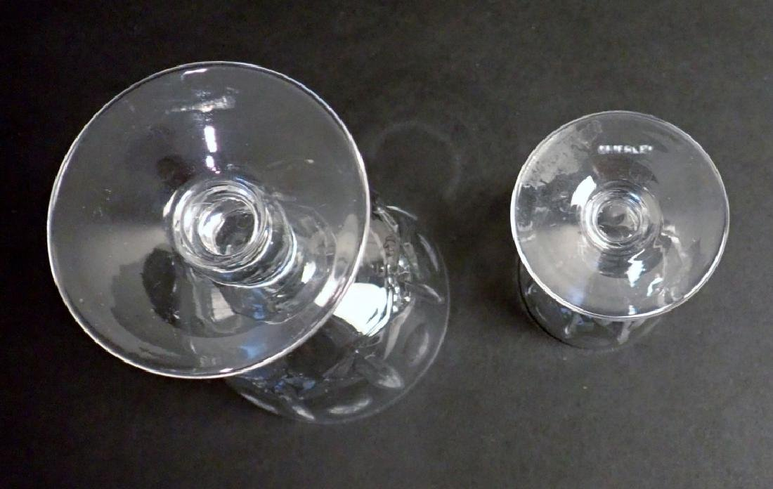 Wine & Cordial Glasses by Royal Brierley, 21 pcs - 8