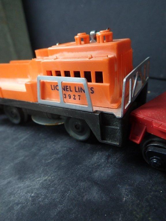 Lot of 4 Lionel Maintenance Train & Flat Cars - 6
