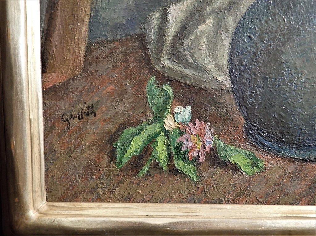 19th Century Still Life Oil Painting, Flowers - 2