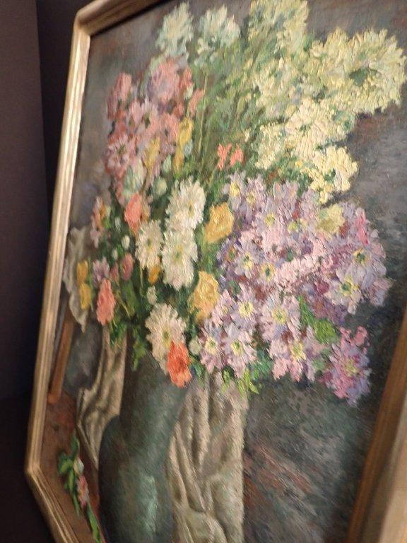 19th Century Still Life Oil Painting, Flowers - 6