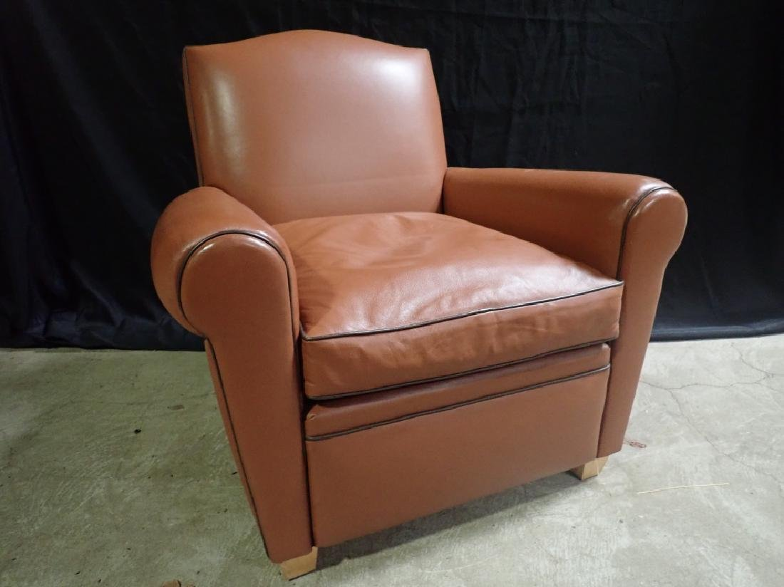 Vintage Leather Arm Lounge Chair