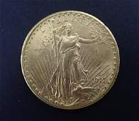 1911 D SaintGaudens Double Eagle 20 Gold Coin