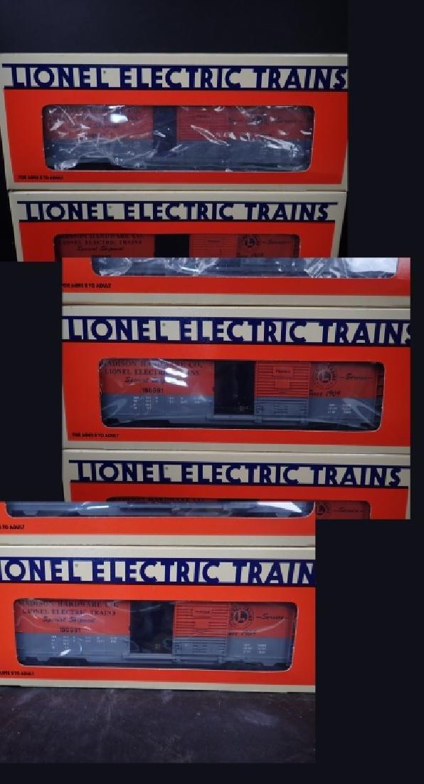 Assortment of Vintage Lionel Train Cars - 10